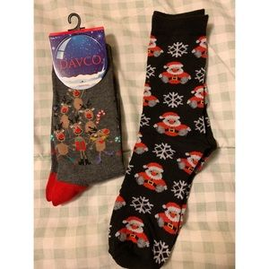 Other - Two Pairs of Christmas Socks